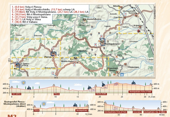 voorbeeld pagina benjaminse fietsgids