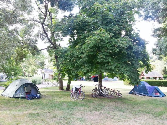 Camping Municipal Le Sabot in Azay le Rideau