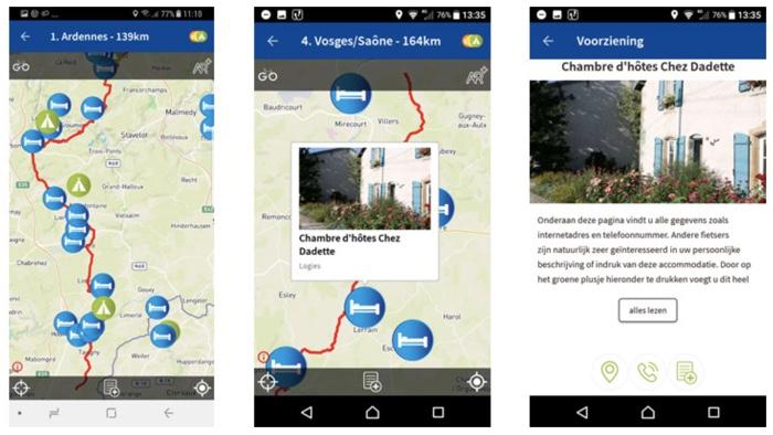 fietsenwinkel-app screenshots