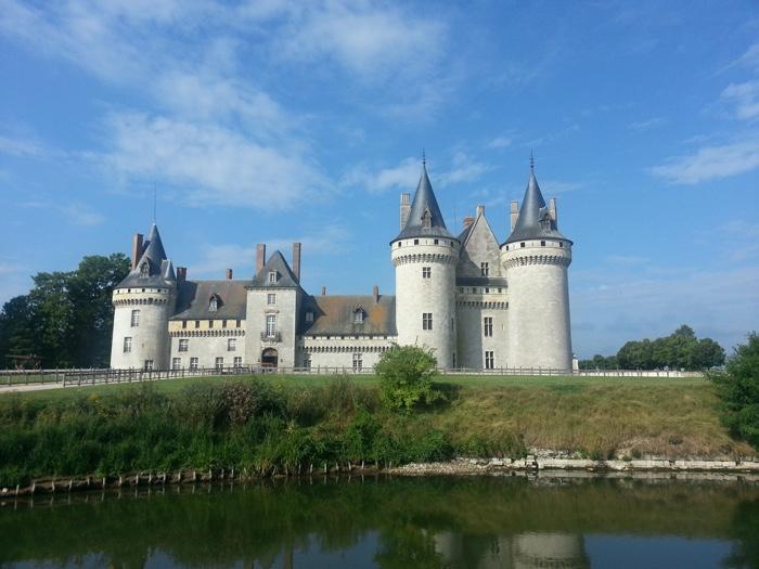 kasteel in de zon