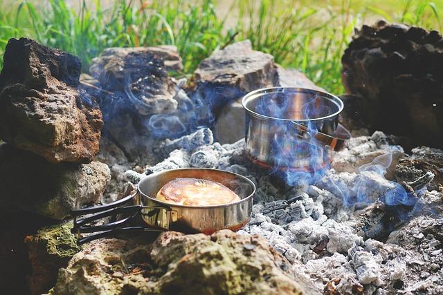 koken op de camping zonder branders