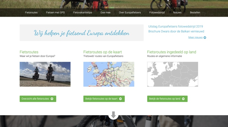 website europafietsers