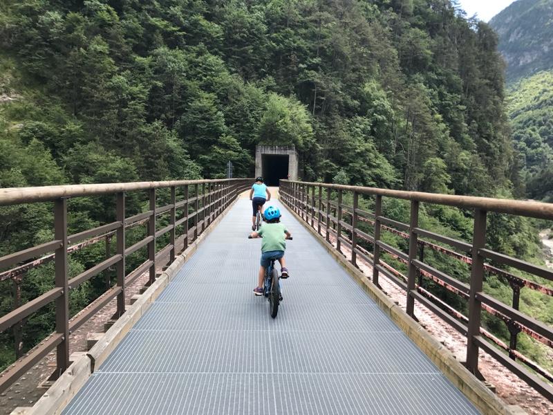 Alpe Adria Fietstunnel