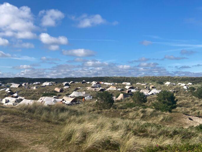 Camping Stortemelk op Vlieland