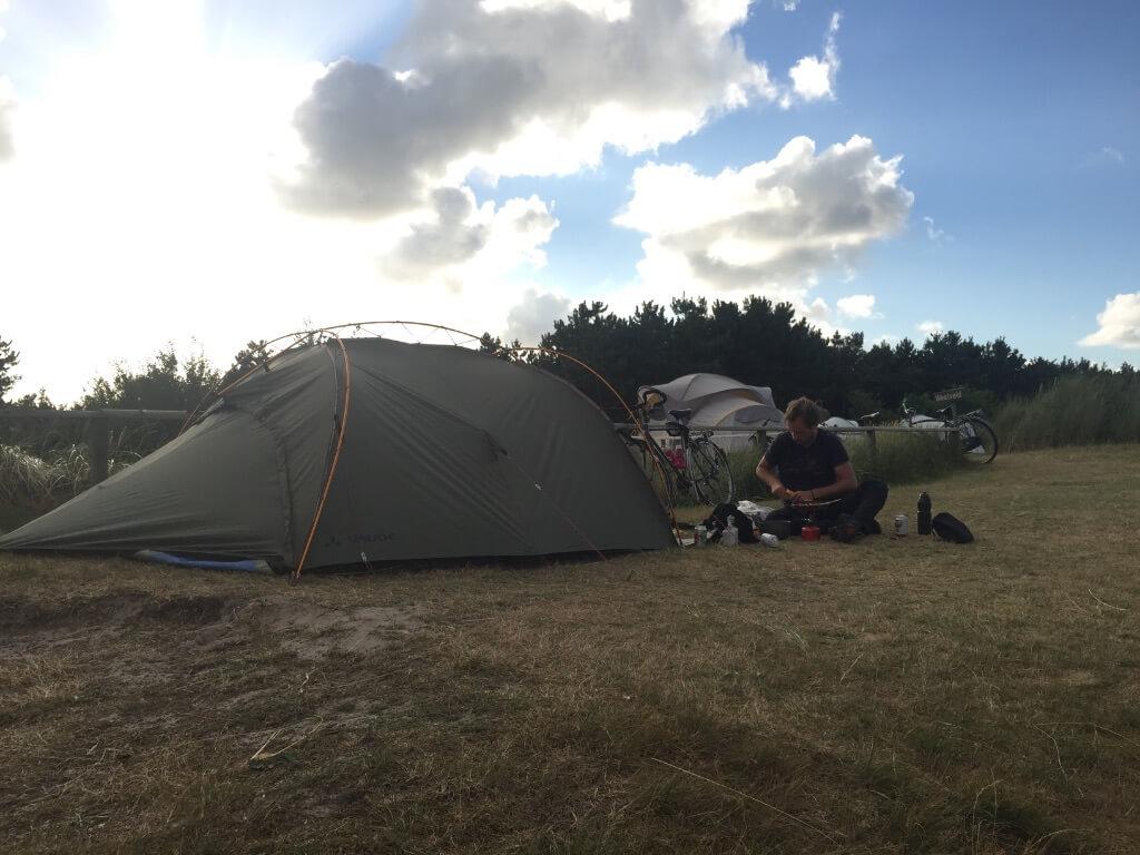 kamperen op Ameland