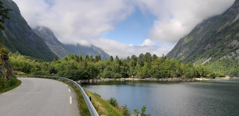 Eresfjord in Noorwegen