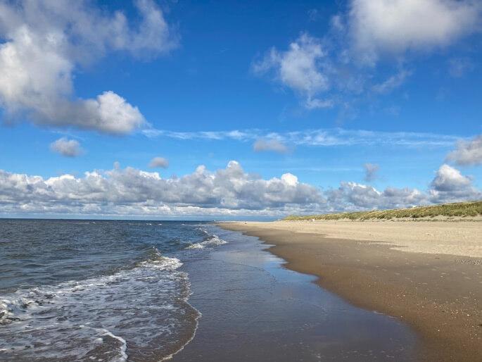 Strand bij Vlieland