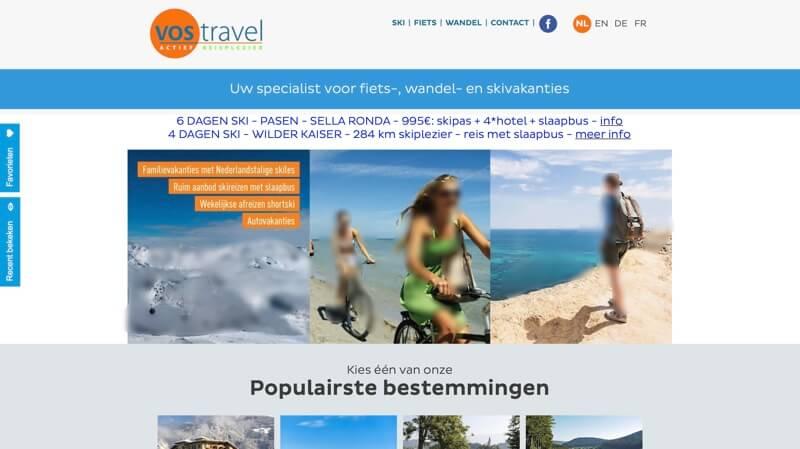 website vos travel