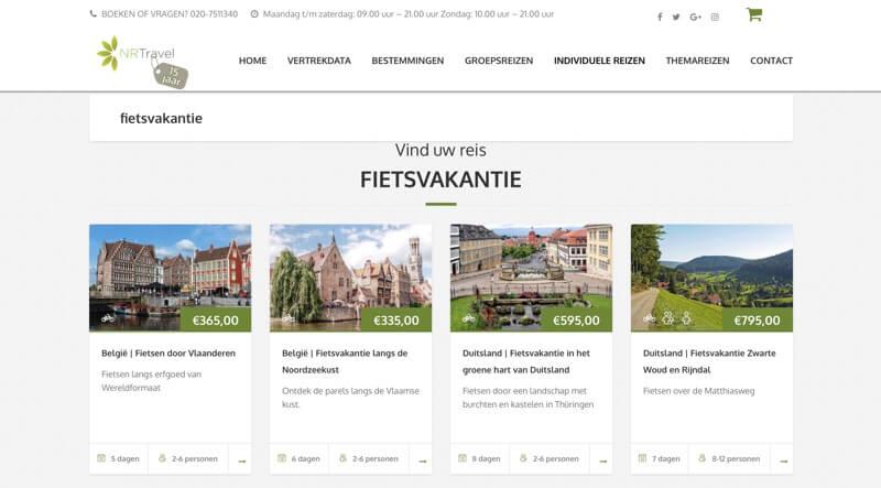 natuurlijkreizen website