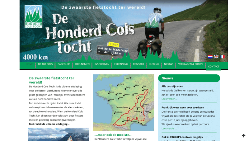 website 100cols.nl