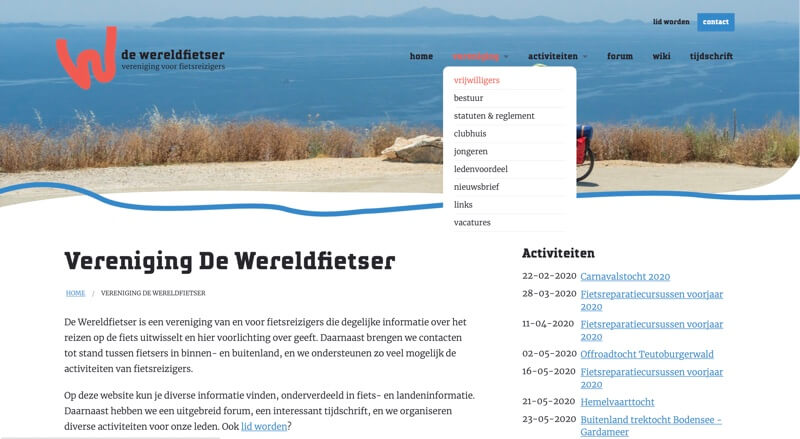 website de wereldfietser
