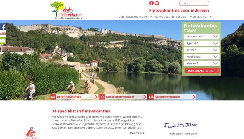 website fietsrelax