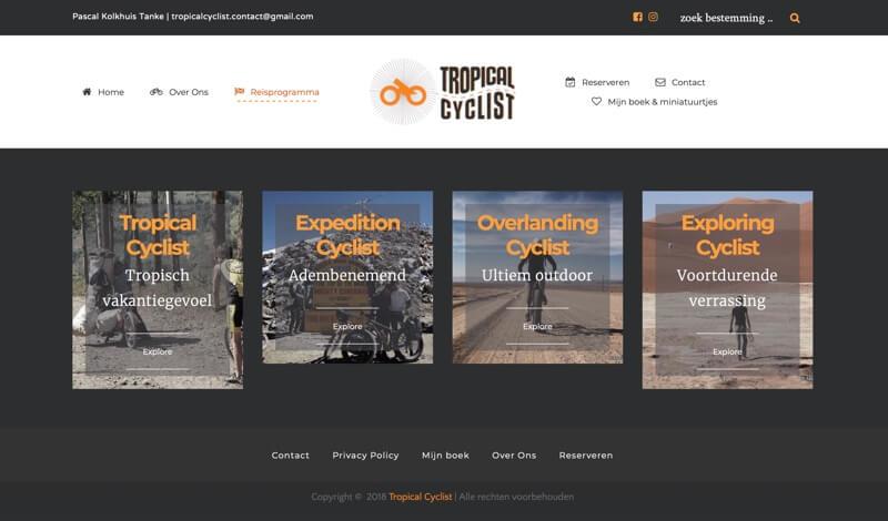 tropical cyclist website
