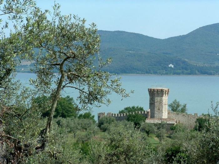 Isola Maggiore in Umbrië