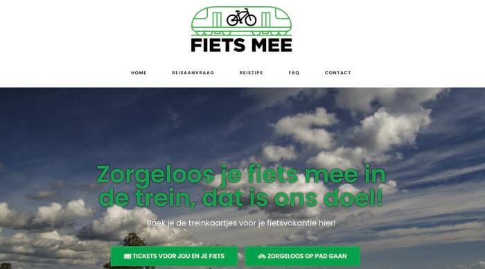 fiets-mee.nl website
