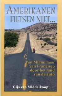 amerikanen fietsen niet gijs van middelkoop boekcover