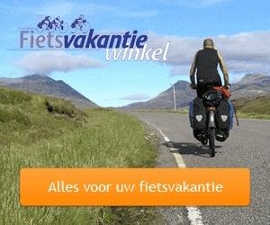 fietsvakantiewinkel advertentie