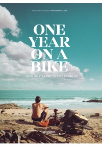 one year on a bike doolaard book cover