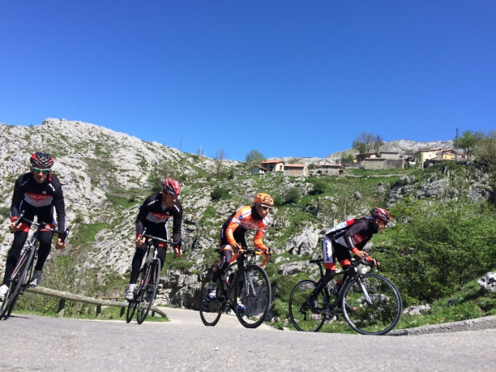 wielrennen in Asturië
