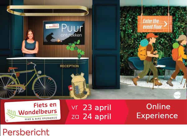 Online fiets en wandelbeurs Event