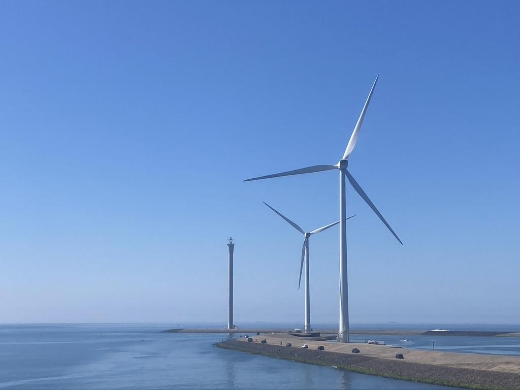 Windmolens Zeeland
