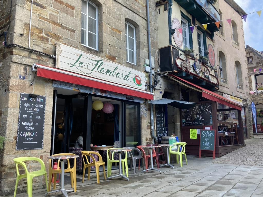 cafe in Lannion Bretagne