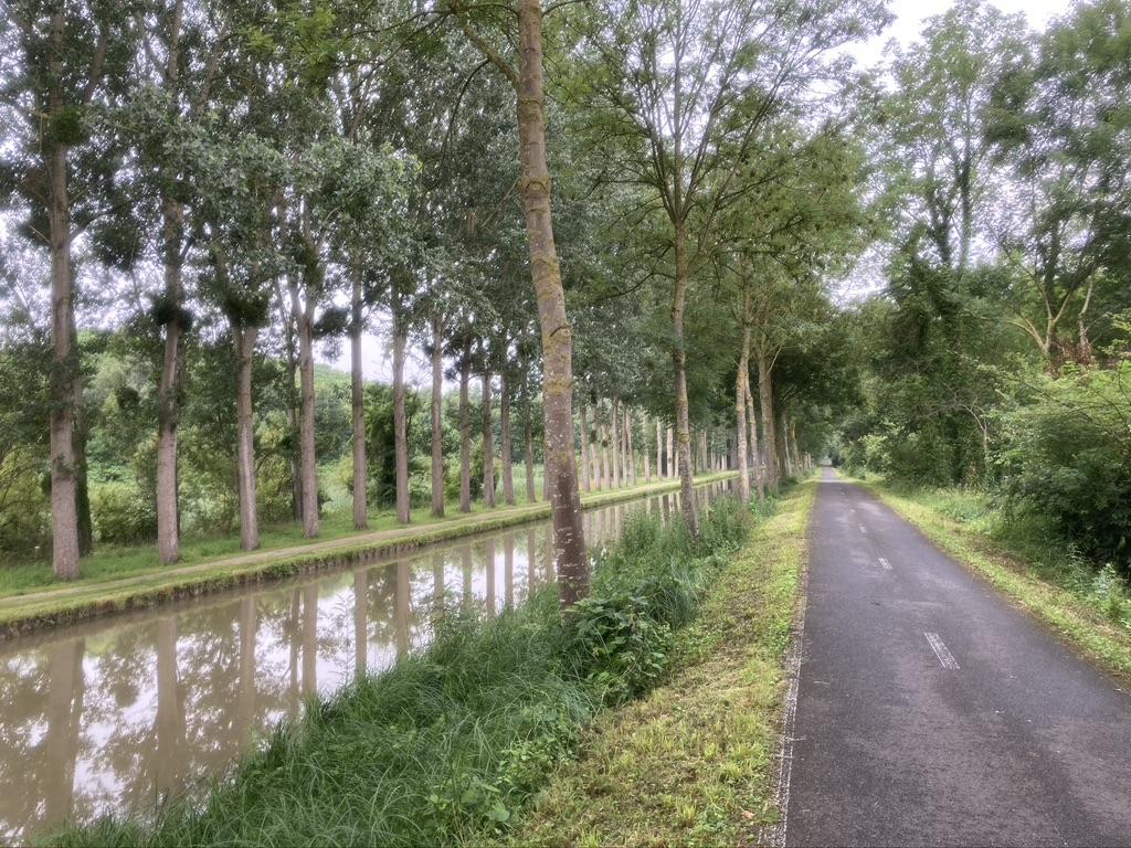 Fietsen naar Parijs via het Canal de l'Ourcq