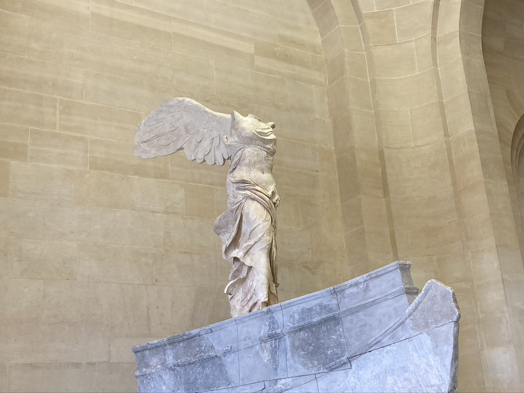 Nikè van Samothrake Louvre
