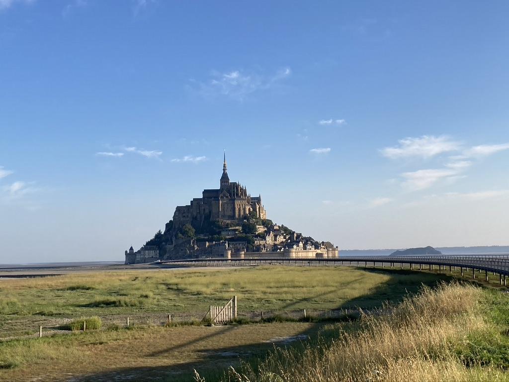 Le Mont Saint Michel langs de Velomaritime