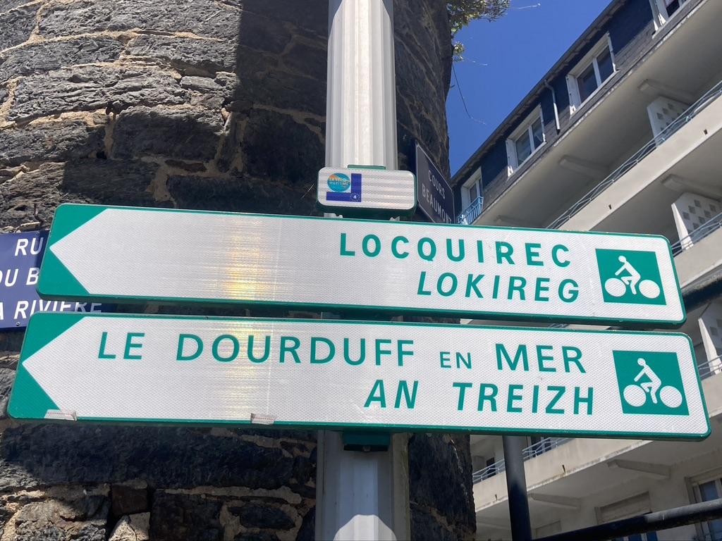 plaatsnamen Bretagne Keltisch