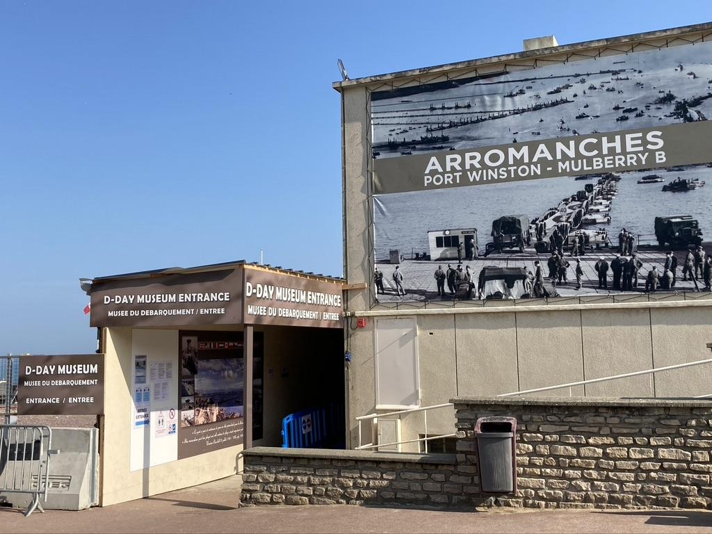 Mulberry haven Museum Arromanches-les-Bains