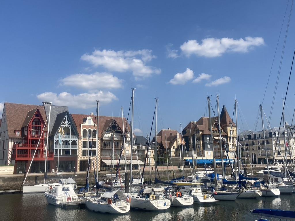Deauville langs de Vélomaritime