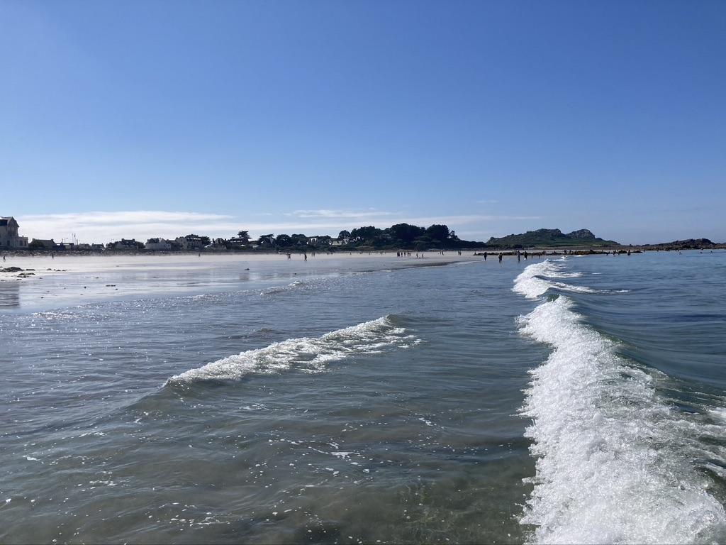 strand bretagne