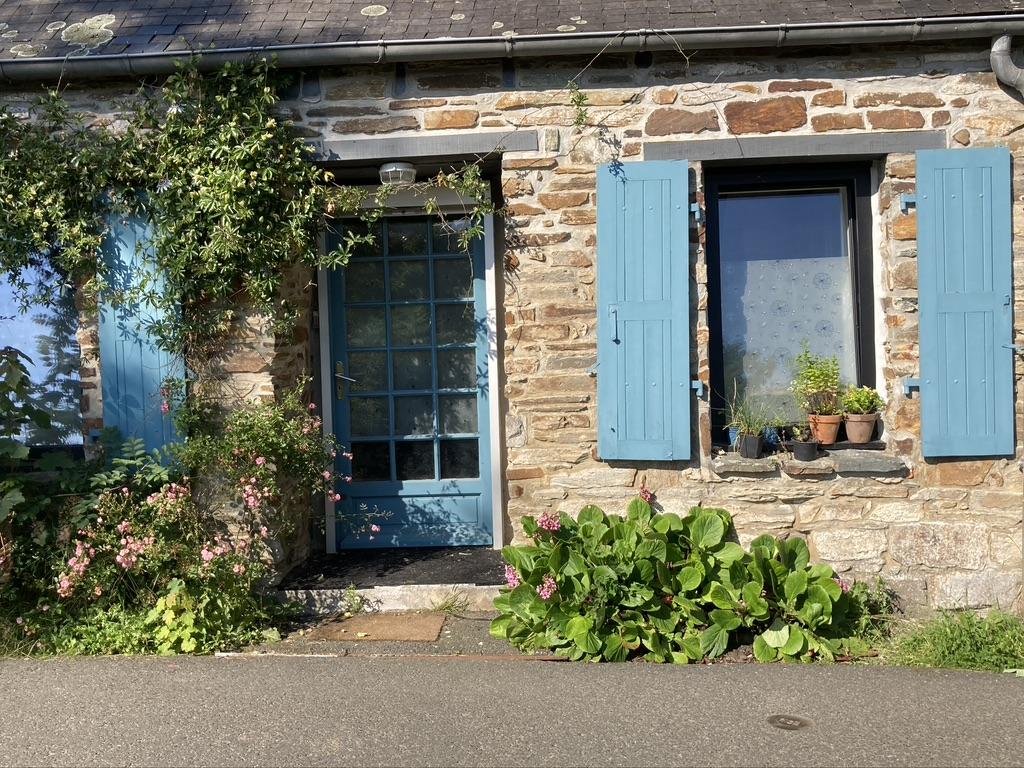 blauwe luiken Bretagne